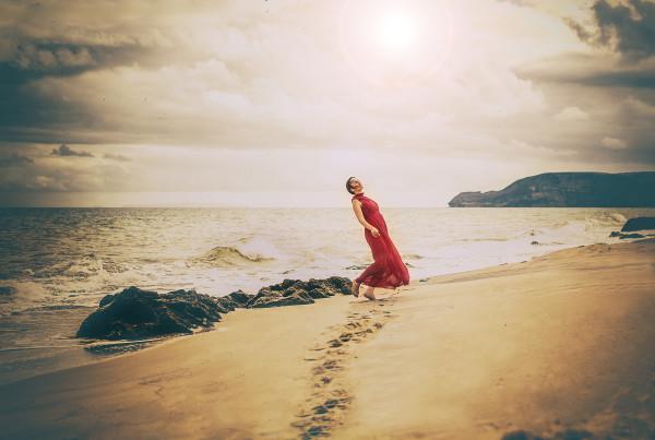 The Dress Tales   Ocean Girl